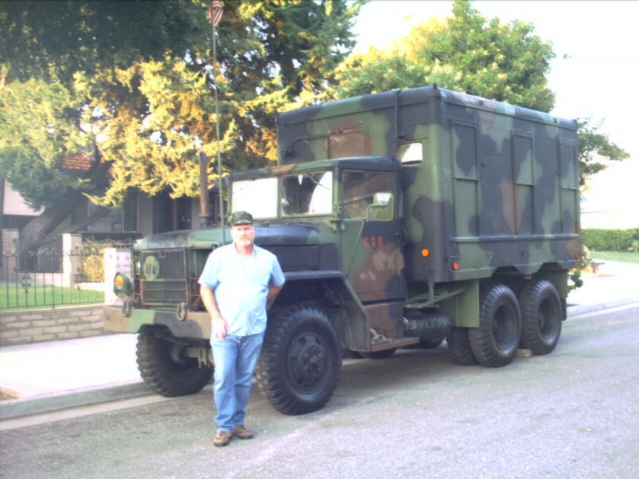 M109a3 shop van for sale